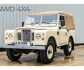 1981 LAND ROVER 88 4 CYL SERIES 3 III SOFT TOP PETROL MANUAL