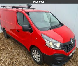 2016 RENAULT TRAFIC 1.6DCI SL29 120 BUSINESS ENERGY READY 4WORK STORAGE PANEL - £9,999