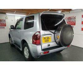 MITSUBISHI PAJERO 3 DOOR 3000CC AUTO SILVER JAPANESE IMPORT CORROSION FREE 2006