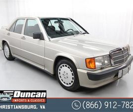 FOR SALE: 1986 MERCEDES-BENZ 190 IN CHRISTIANSBURG, VIRGINIA