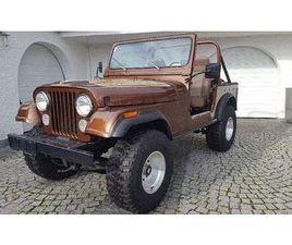 JEEP CJ 7 V8 GOLDEN EAGLE 4X4 SUV / GELÄNDEWAGEN, 1978, 94.800 KM, € 30.500,- - WILLHABEN
