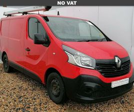 2016 RENAULT TRAFIC 1.6DCI SL29 120 BUSINESS ENERGY READY 4WORK STORAGE PANEL - £10,499