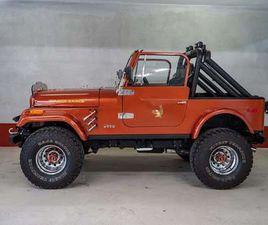 JEEP CJ 7, V8, QUADRA TRAC SUV / GELÄNDEWAGEN, 1982, 99.999 KM, € 45.000,- - WILLHABEN