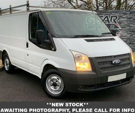2013 FORD TRANSIT 2.2TD 260 SWB (100PS)(EU5) (LOW ROOF) PANEL VAN - £6,450 +VAT