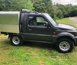 2012 SUZUKI JIMNY 1.3 SZ3 PICK UP TRUCK CONVERSION NOW SOLD OTHERS AVAILABLE