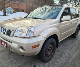 USED 2006 NISSAN X-TRAIL 4DR 4X4 DRIVE | SUN-ROOF | EXTRA ALL-SEASON TIRES ON ALLOY