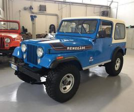 JEEP CJ-7 JEEP CJ7 RENEGADE LEVIS EDITION AMC 304 RIF. 14740623