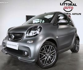 SMART FORTWO CABRIOLET FINITION BRABUS STYLE 90CH BVA