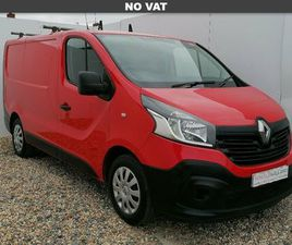 2016 RENAULT TRAFIC 1.6DCI SL29 120 BUSINESS ENERGY READY 4WORK STORAGE PANEL - £10,299