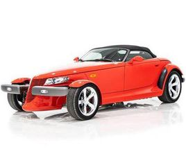 1999 PLYMOUTH PROWLER NEW THROUGHOUT WITH ONLY 2,537MI (4,059)