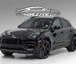 USED 2016 PORSCHE MACAN TURBO CHRONO PKG, 21 ALLOYS, LOADED, NO ACCIDENTS