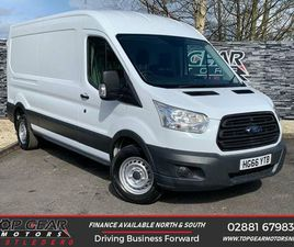 2017 FORD TRANSIT 2.2TDCI 350 L3H2 (125PS) RWD PANEL VAN - £14,850 +VAT