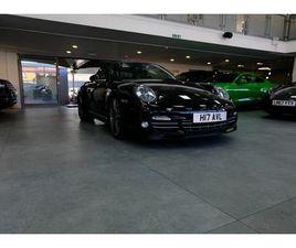2012 PORSCHE 911 3.8 TURBO S CABRIOLET - £77,000