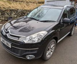 CITROEN, C-CROSSER, ESTATE, 2010, MANUAL, 5 DOORS, 4X4, 7 SEATER, SNOW TYRES