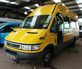 RARE CONFIUGARTION FORD IVECO DUCATO ENGINE LWB EXTRA HIGH ROOF BASE VAN