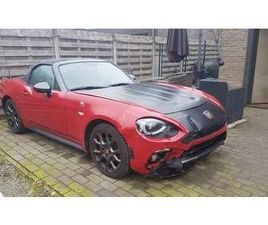ABARTH 124 SPIDER 1.4 MULTIAIR *AUTOMAAT*NAVIGATIE*PDC*FULL OPTION*