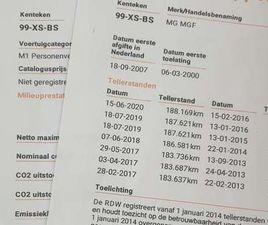MG MGF 1.8I