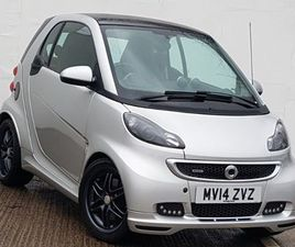 SMART FORTWO COUPE BRABUS XCLUSIVE 2DR SOFTOUCH AUTO [102] 1.0