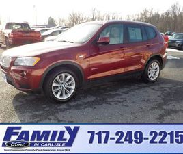 RED COLOR 2014 BMW X3 XDRIVE28I FOR SALE IN CARLISLE, PA 17013. VIN IS 5UXWX9C52E0D10743.