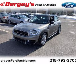 BEIGE COLOR 2019 MINI COOPER COUNTRYMAN S FOR SALE IN AMBLER, PA 19002. VIN IS WMZYT5C54K3