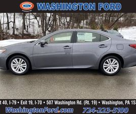 GRAY COLOR 2015 LEXUS ES 350 BASE FOR SALE IN WASHINGTON, PA 15301. VIN IS JTHBK1GG3F21912