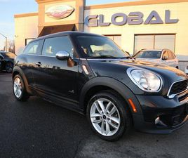 USED 2013 MINI COOPER PACEMAN S ALL4