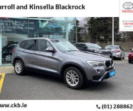 BMW X3 X3 2.0D SE AUTO FOR SALE IN DUBLIN FOR €23950 ON DONEDEAL