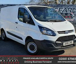 2016 FORD TRANSIT CUSTOM 2.0TDCI 290 L1H1 (130PS)(EU6) PANEL VAN - £10,250 +VAT