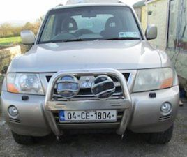 MITSUBISHI PAJERO 3.2 FOR SALE IN CLARE FOR €3500 ON DONEDEAL