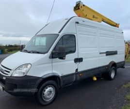 USED 2008 IVECO DAILY CHERRYPICKER NOT SPECIFIED 129,000 MILES IN WHITE FOR SALE | CARSITE