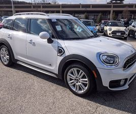 WHITE COLOR 2018 MINI COOPER COUNTRYMAN S FOR SALE IN TOWSON, MD 21204. VIN IS WMZYT5C37J3