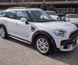 WHITE COLOR 2018 MINI COOPER COUNTRYMAN S FOR SALE IN TOWSON, MD 21204. VIN IS WMZYT5C33J3