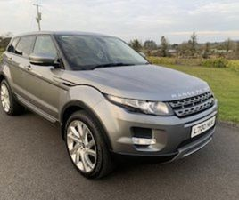 2013 RANGE ROVER EVOQUE SD 4 MANUAL FOR SALE IN FERMANAGH FOR £11495 ON DONEDEAL