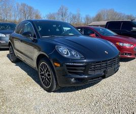 BLACK COLOR 2015 PORSCHE MACAN S FOR SALE IN MINERVA, OH 44657. VIN IS WP1AB2A50FLB59806.