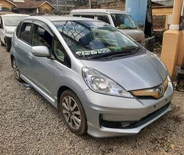 HONDA FIT 2012 SPORT AUTOMATIC SILVER