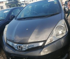 HONDA FIT 2012 AUTOMATIC GRAY