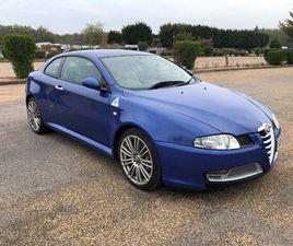 ALFA ROMEO GT 3.2 V6 24V 2DR BLUE 2005