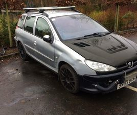BREAKING,PEUGEOT, 206, ESTATE, 2003, MANUAL, 1997 (CC), 5 DOORS