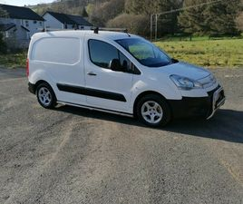 2009 CITROEN BERLINGO 1.6 HDI 3 SEATER