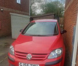VOLKSWAGEN, GOLF PLUS, HATCHBACK, 2005, MANUAL, 1390 (CC), 5 DOORS