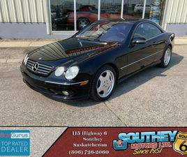 2001 MERCEDES-BENZ CL-CLASS WITH HIGH PERFORMANCE AMG PACKAGE   CARS & TRUCKS   REGINA   K