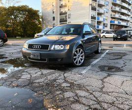 2002 AUDI A4 1.8T MANUAL   CARS & TRUCKS   CITY OF TORONTO   KIJIJI