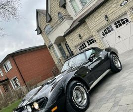 1979 CORVETTE LS SWAP 5.3 BLACK ON RED LOOKING TO TRADE | CLASSIC CARS | CITY OF TORONTO |