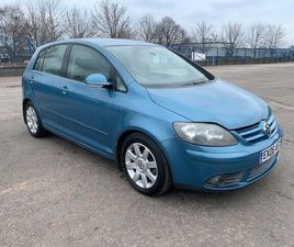 VOLKSWAGEN GOLF PLUS 2.0L GT TDI HATCHBACK 2006