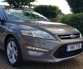 FORD MONDEO 2.0 TDCI TITANIUM MANUAL 6 SPEED GEARBOX FULL SERVICE HISTORY