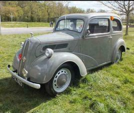 1954 FORD POPULAR 1955 MODEL NEED SOME WORK. PX SWAP ETC PETROL MANUAL