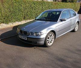 BMW, 3 SERIES, 2004, 316TI SE 1.8