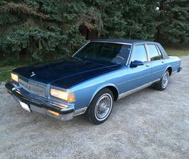 1990 CAPRICE CLASSIC BROUGHAM - EXCELLENT CONDITION   CLASSIC CARS   LONDON   KIJIJI