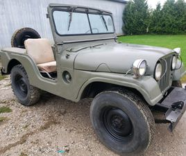M38A1 WILLYS JEEP 1967 | CLASSIC CARS | WINDSOR REGION | KIJIJI