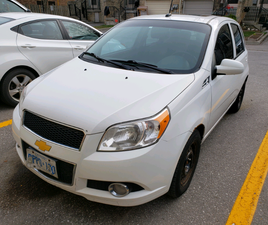 2011 CHEVY AVEO5 - 4 DOOR HATCHBACK - AUTOMATIC TRANSMISSION | CARS & TRUCKS | OSHAWA / DU